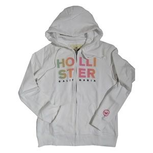 HOLLISTER Women's Hoodie Logo Graphic